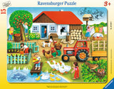 Ravensburger Children's Puzzles My First Frame Puzzles - Where to Put it (15 pc Puzzle) 6020