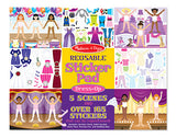 Melissa & Doug Reusable Sticker Pad - Dress-Up 4198