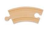 "Melissa & Doug 3.25"" Curved Track (6 pack)"