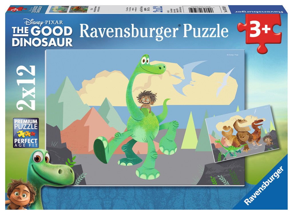 Ravensburger The Good Dinosaur™ Arlo & His Friends (2 x 12 pc Puzzle) 7595