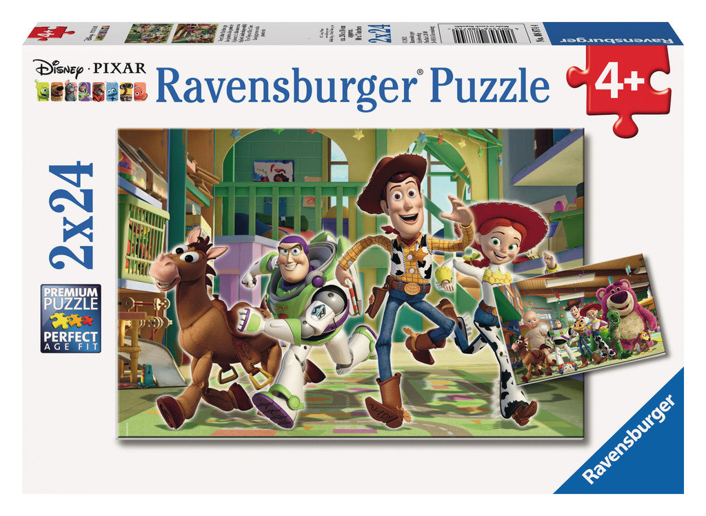 Ravensburger Disney Pixar: The Toys at Day Care (2 x 24-Piece) Puzzles in a Box