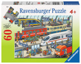 Ravensburger Children's Puzzles 60 pc Puzzles - Railway Station 09610