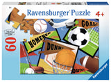 Ravensburger Children's Puzzles 60 pc Puzzles - Sports! Sports! Sports! 09622