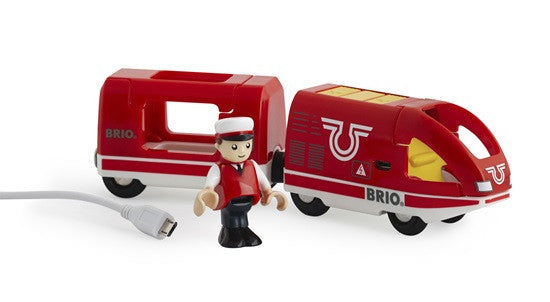 Brio Railway - Battery Engines - Travel Rechargeable Train 33746
