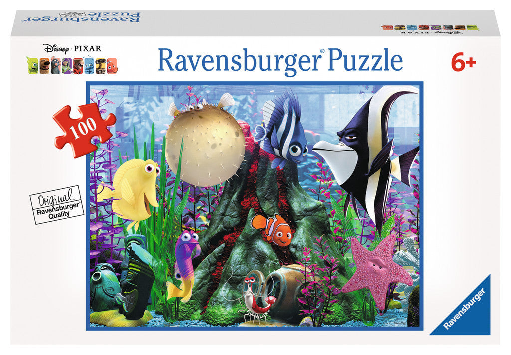 Ravensburger Disney Pixar™ Finding Nemo: Hanging Around (100 pc XXL Puzzle in a Small Suitcase) 10575