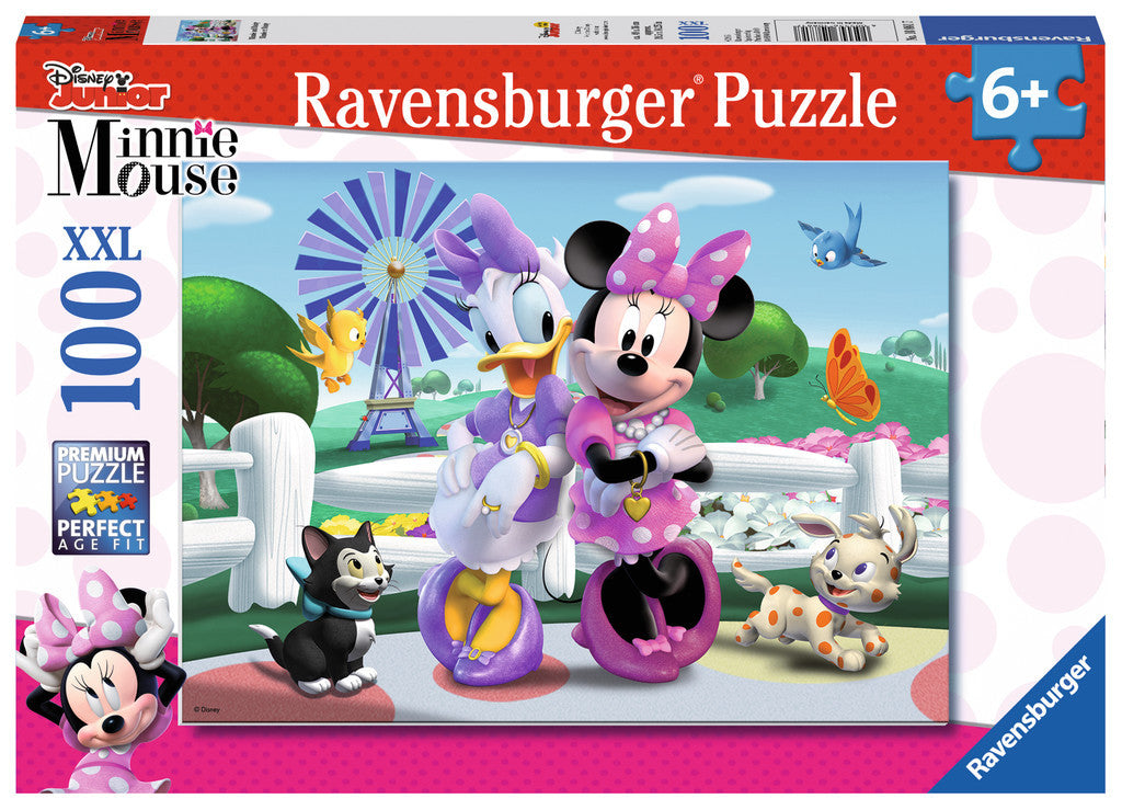 Ravensburger Junior™ Mickey & Minnie: Minnie & Daisy (100 pc XXL Puzzle) 10881