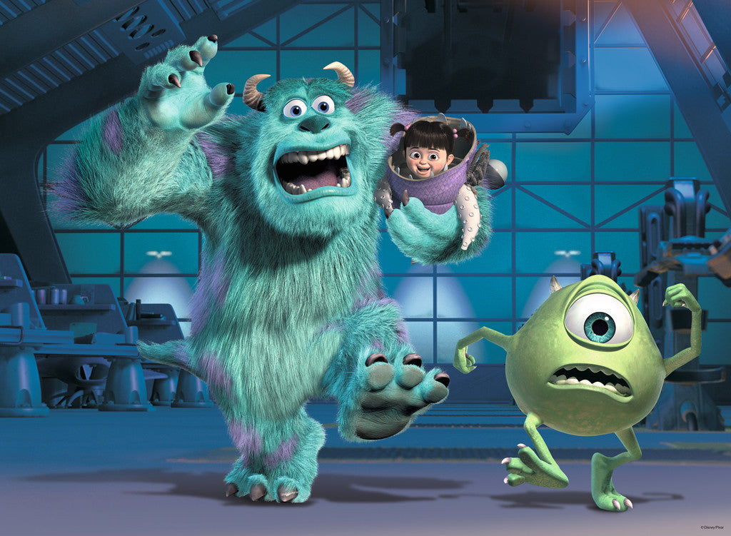 Ravensburger Disney Pixar™ Monsters Inc : Sully, Mike & Boo (100 pc XXL  Puzzle) 10941