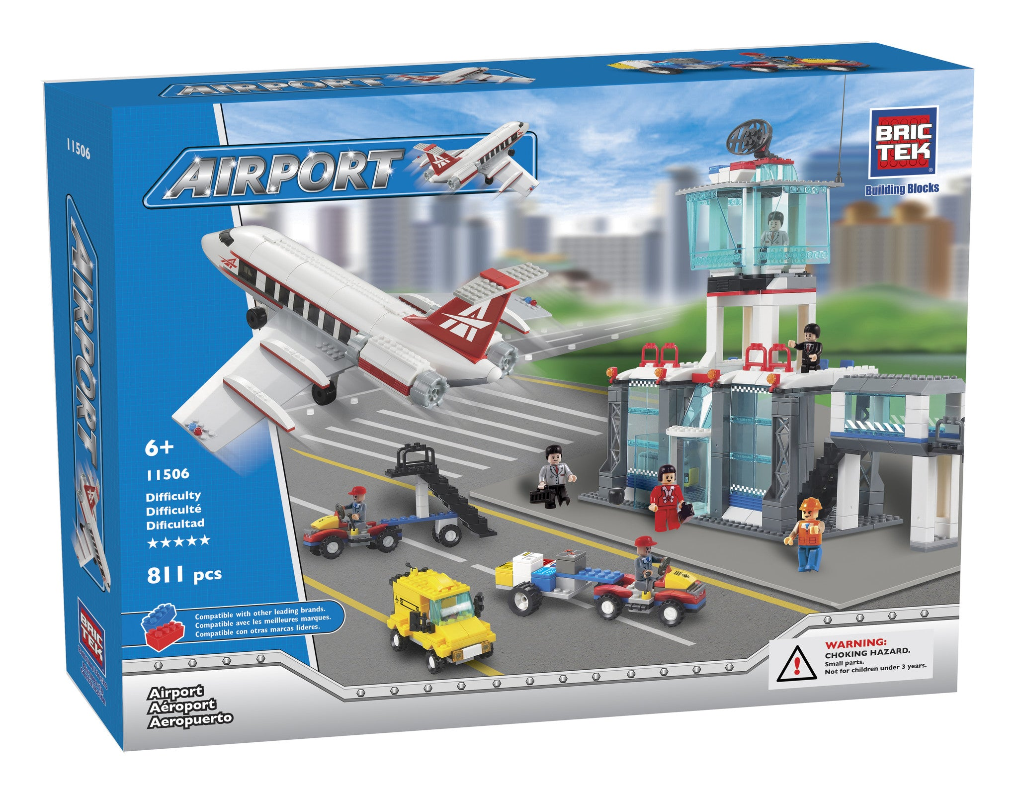 Brictek Building Blocks - Airport 11506