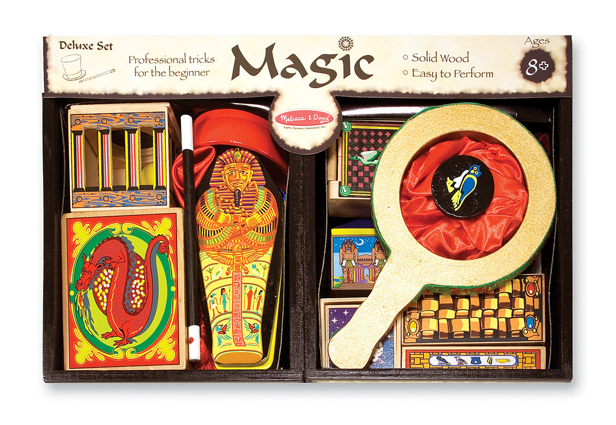 Melissa /& Doug Deluxe Magic Set 1170