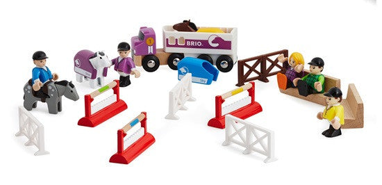 Brio Railway - Accessories - Horse Jumping Pack 33796