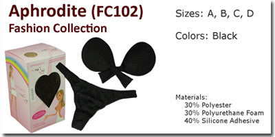 NuBra Aphrodite Fashion Collection Bra & Panties Set FC102
