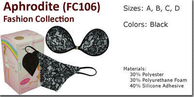 NuBra Aphrodite Fashion Collection Bra & Panties Set FC106