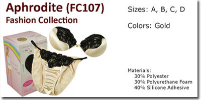 NuBra Aphrodite Fashion Collection Bra & Panties Set FC107