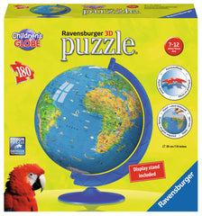 Ravensburger 3D Puzzles Children's World Globe 12328