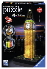Ravensburger 3D Puzzles Big Ben - Night Edition 12588