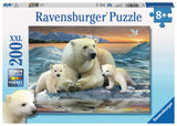 Ravensburger Children's Puzzles 200 pc Puzzles - Polar Bears 12647