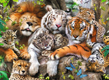 Ravensburger Children's Puzzles 200 pc Puzzles - Big Cat Nap 12721