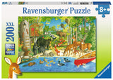 Ravensburger Children's Puzzles 200 pc Puzzles - Woodland Friends 12740