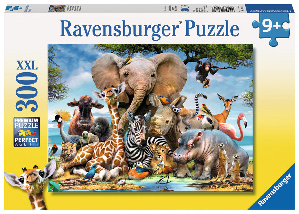 Ravensburger Children's Puzzles 300 pc Puzzles - African Friends 13075