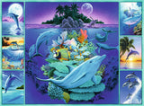 Ravensburger Children's Puzzles 300 pc Puzzles - Dolphin Collage 13191