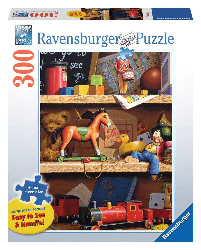 Ravensburger Adult Puzzles 300 pc Large Format Puzzles - Toy Shelf 13557