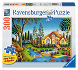 Ravensburger Adult Puzzles 300 pc Large Format Puzzles - Cottage Dream 13567