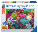 Ravensburger Adult Puzzles 300 pc Large Format Puzzles - Knitting Notions 13572