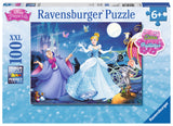 Ravensburger Princess™ Adorable Cinderella (100 pc XXL Puzzle with Glitter) 13671