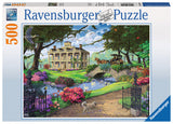 Ravensburger Adult Puzzles 500 pc Puzzles - Visiting the Mansion 14690