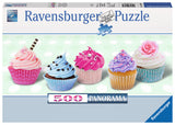 Ravensburger Adult Puzzles 500 pc Panorama Puzzle - Cupcakes 14803