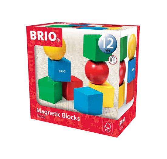 Brio Infant/Toddler - Building Sets - Magnetic Building Blocks 30123
