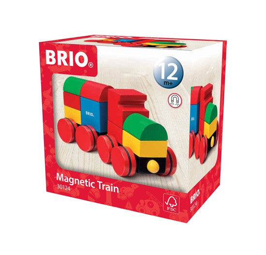Brio Infant/Toddler - Building Sets - Magnetic Stacking Train 30124
