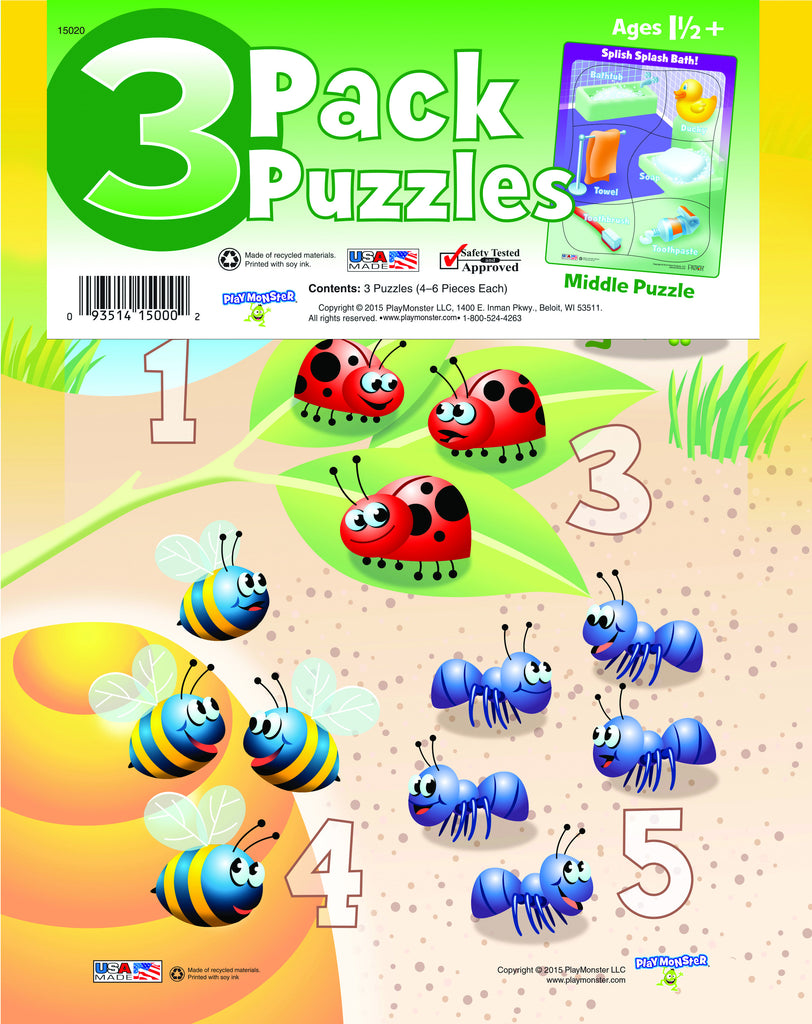 3-Pack Puzzles 15020