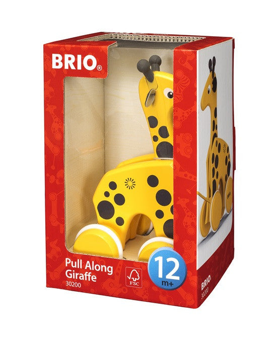Brio Infant/Toddler - Pull Alongs - Pull-along Giraffe 30200