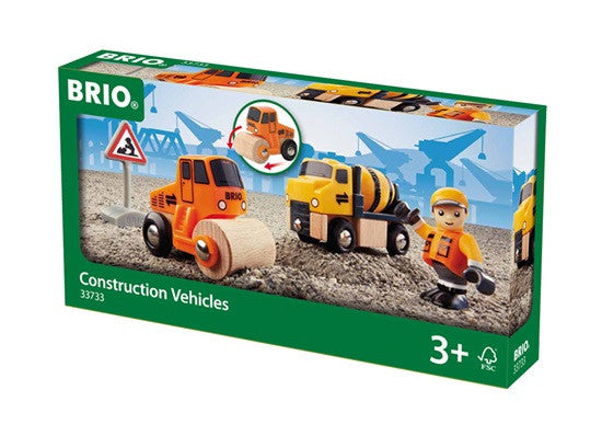 Brio Railway - Trains - Construction Vehicles 33733