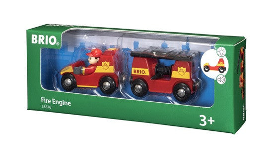 Brio Railway - Trains - Fire Engine 33576