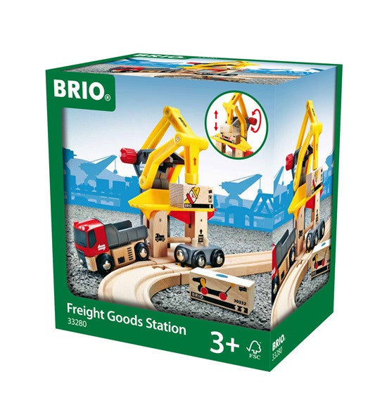 Brio Railway - Accessories - Freight Goods Station 33280