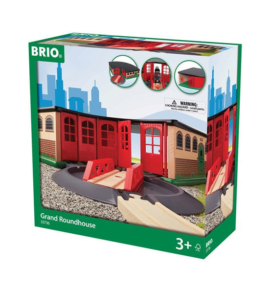 Brio Railway - Accessories - Grand Roundhouse  33736
