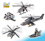 Brictek Air Force Apache Helicopter 5-in-1 15711
