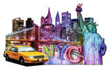 Ravensburger Adult Puzzles Shaped Puzzles - NYC Skyline 16153