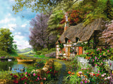 Ravensburger Adult Puzzles 1500 pc Puzzles - Country Cottage 16202