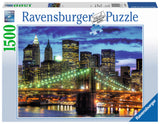 Ravensburger Adult Puzzles 1500 pc Puzzles - Skyline New York City 16272