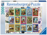 Ravensburger Adult Puzzles 2000 pc Puzzles - Vacation Stamps 16602