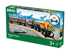 Brio Railway - Trains - Boxcar Train  33567