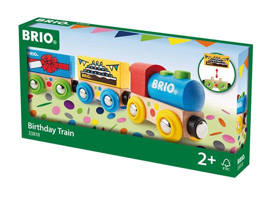 Brio Railway - Trains - Birthday Train 33818