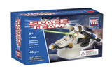 Brictek Space Fighter With Rotating Stand 17006