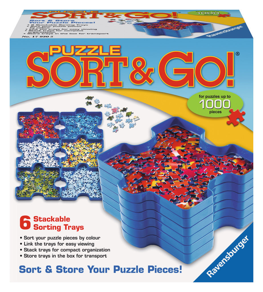 Ravensburger Adult Puzzles Puzzle Accessories - Puzzle Sort & Go! 17930