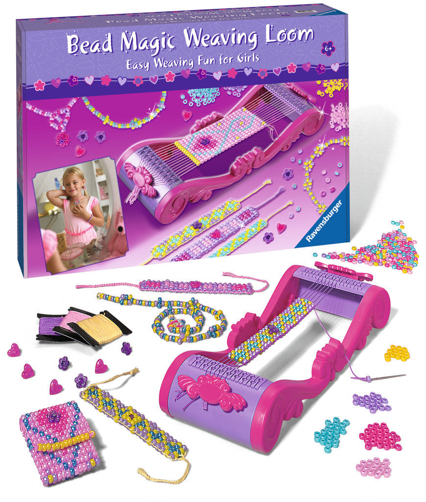 Ravensburger Arts & Crafts Large Craft Sets - Bead Magic Weaving Loom 18550