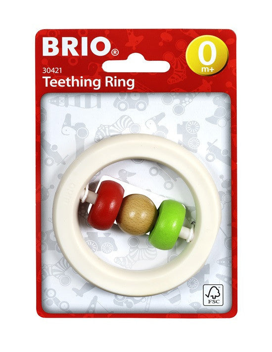 Brio Infant/Toddler - Infant - Teething Ring 30421