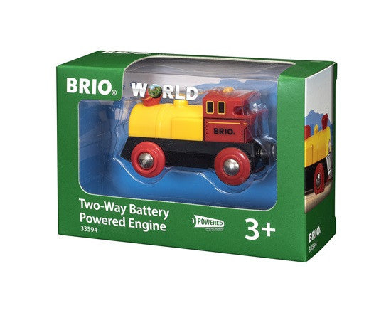 Brio Railway - Battery Engines - Two Way Battery Powered Engine 33594